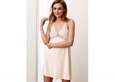 Victoria's Secret Noční Košilka (Coconut White)