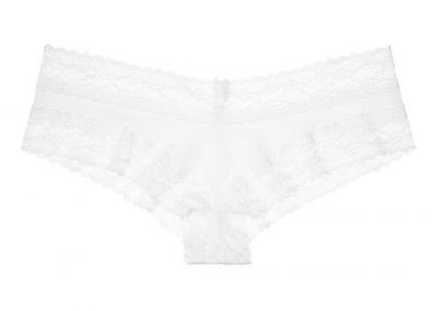 Victoria's Secret Kalhotky Cheeky (White)