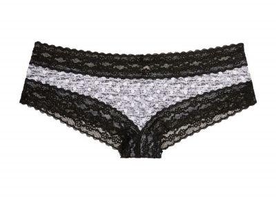 Victoria's Secret Kalhotky Cheeky Cotton (Grey)