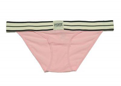 Victoria's Secret Pink Kalhotky Bikini Logo (Peach Pink)