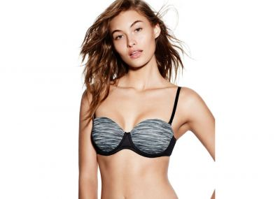 Victoria's Secret Pink Podprsenka Wear Everywhere Multi-way (Grey)