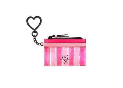 Victoria's Secret Card Case (Pink Stripe)