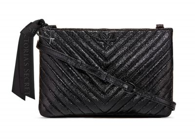 Victoria's Secret kabelka Crossbody (Metallic Black)
