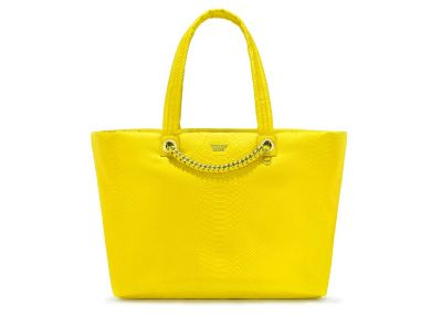 Victoria's Secret kabelka Weekender Tote Python (Yellow)