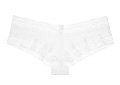 Victoria's Secret kalhotky Cotton Cheeky (White)