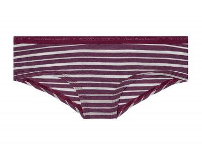 Victoria's Secret kalhotky Logo Cheeky (Kir Stripe)