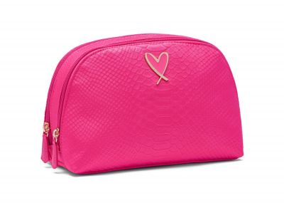 Victoria's Secret kosmetická taštička (Pink Python)
