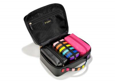 Victoria's Secret kosmetický kufřík + 3 taštičky (Rainbow)
