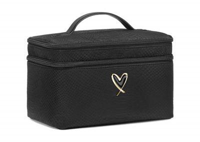 Victoria's Secret kosmetický kufřík + taštička (Black Python)