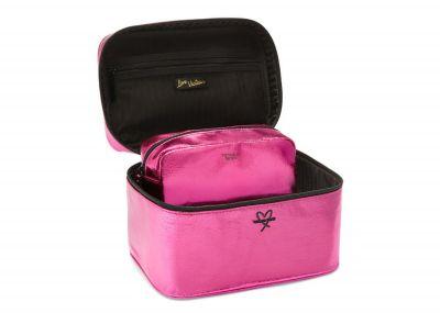 Victoria's Secret kosmetický kufřík + taštička (Bombshell Pink)