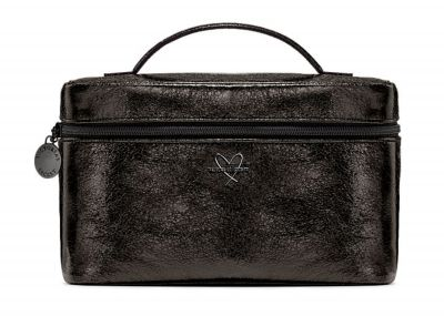 Victoria's Secret kosmetický kufřík + taštička (Metallic Black)