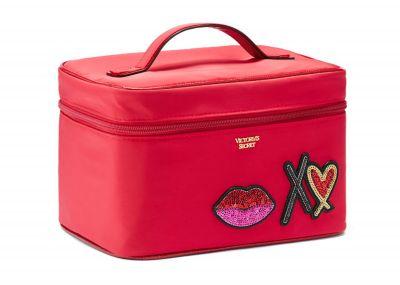 Victoria's Secret kosmetický kufřík + taštička (Runway Red)