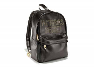 Victoria's Secret koženkový batoh (Black)