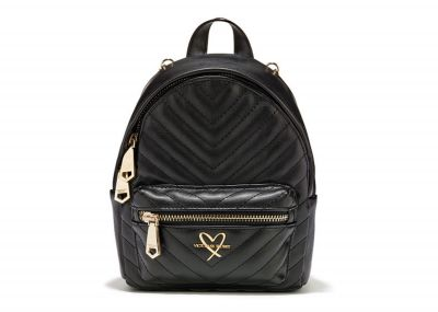 Victoria's Secret Mini Backpack (Black)