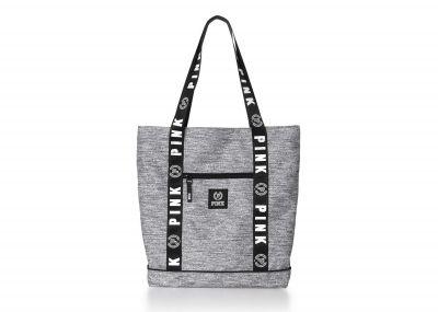 Victoria's Secret PINK kabelka Travel Tote (Grey)