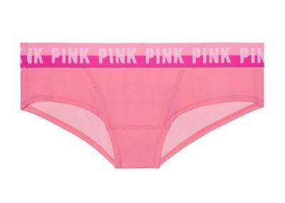 Victoria's Secret Pink kalhotky Hipster Logo (Pink)