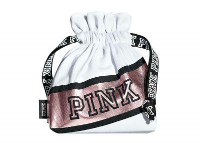 Victoria's Secret PINK pytlíček (White)