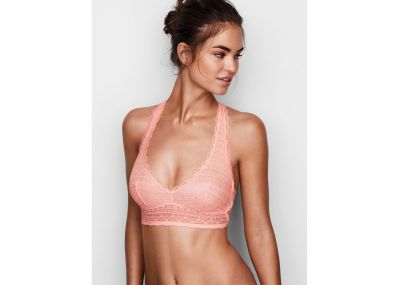Victoria's Secret Podprsenka Racerback bralet (Light Pink)