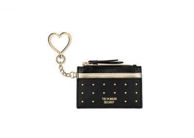 Victoria's Secret Card Case (Black/Gold)