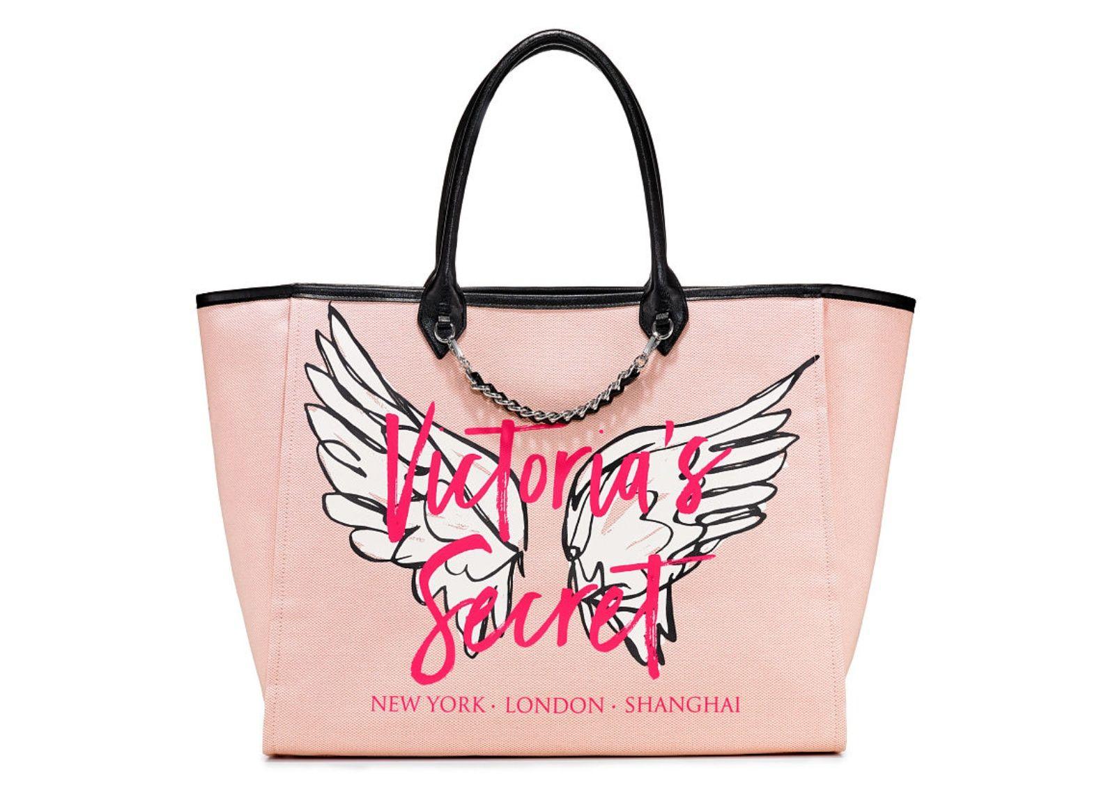 2a10577dd3 Victoria s Secret kabelka Angel City Tote (Graffiti Pink)