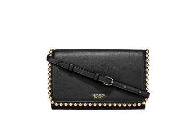 Victoria's Secret kabelka Ball Stud Crossbody (Black)