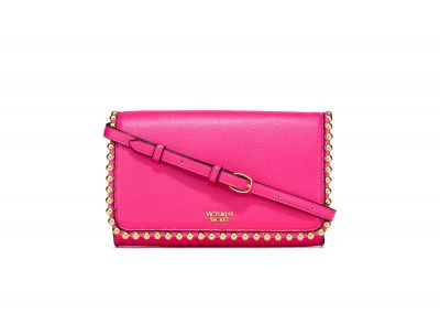Victoria's Secret kabelka Ball Stud Crossbody (Pink)