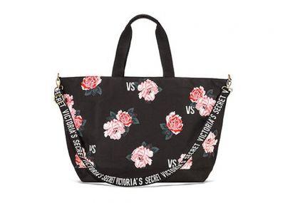 Victoria's Secret kabelka (Black Floral)