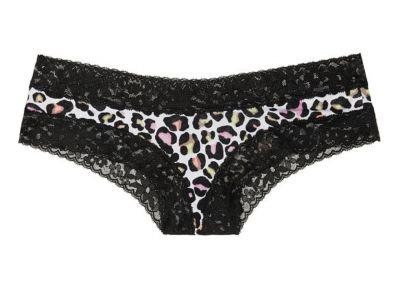 Victoria's Secret kalhotky Cheeky Cotton (Leopard)