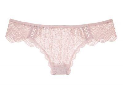 Victoria's Secret kalhotky Tanga Dream Angels (Sheer Pink Shine)