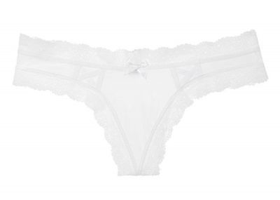 Victoria's Secret kalhotky Tanga Very Sexy (White)