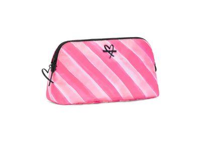 Victoria's Secret kosmetická mini taštička (Pink Stripe)