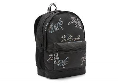 Victoria's Secret Pink Campus Backpack (Black Logo)