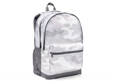 Victoria's Secret Pink Campus Backpack (White Camo)