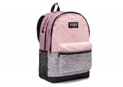 Victoria's Secret Pink Campus Backpack (Grey Pink)