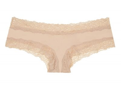 Victoria's Secret Pink kalhotky Cheekster Lace (Buff)