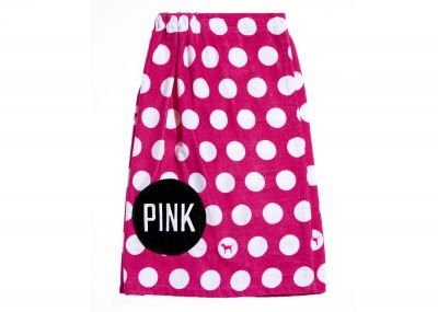 Victoria's Secret Pink osuška (Hot Pink Dot)