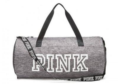 Victoria's Secret Pink sportovní taška (Grey)