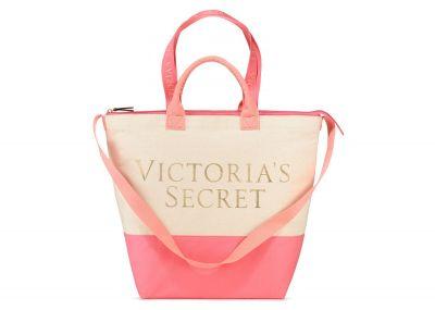 Victoria's Secret plážová chladící kabelka 2v1 (Pink)
