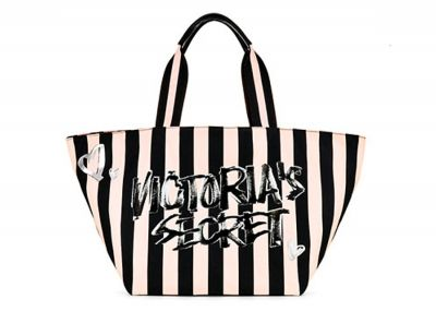 Victoria's Secret kabelka Graffiti Tote (Striped)
