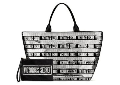 Victoria's Secret kabelka + psaníčko Fashion Show (Silver Shine)
