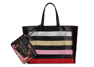 Victoria's Secret kabelka + psaníčko Glitter (Stripe)