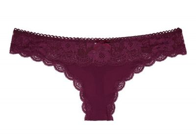 Victoria's Secret kalhotky Tanga Dream Angels Floral Lace (Kir)