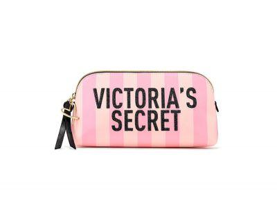 Victoria's Secret kosmetická taštička (Pink Stripe)