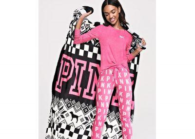 Victoria's Secret Pink hřejivá deka (Winter)