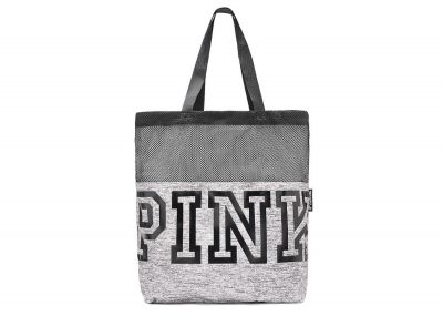 Victoria's Secret Pink kabelka Mesh (Grey)