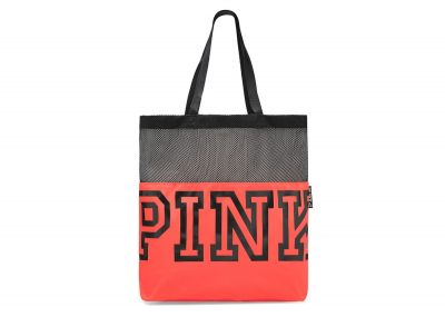 Victoria's Secret Pink kabelka Mesh (Neon Red)