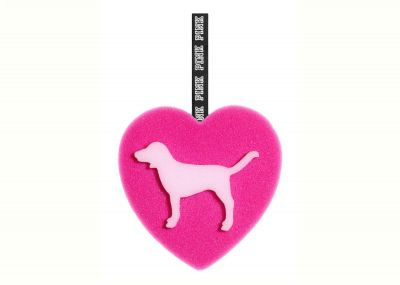 Mycí houba Victorias Secret Pink (Heart Dog)