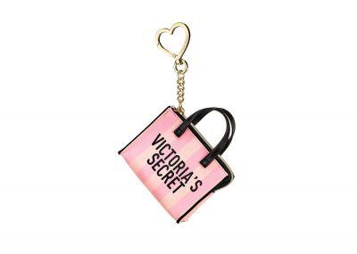 Victoria's Secret přívěsek/klíčenka (Pink Stripe)