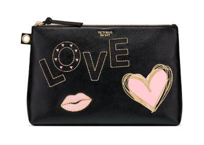 Victoria's Secret velká kosmetická taštička/psaníčko (Love)