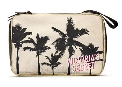 Victoria's Secret cestovní kosmetická taštička (Gold)